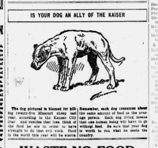 Dog Ally Kaiser (1917)